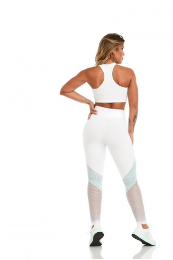 Легинсы Cajubrasil Legging NZ Sensation Branco белый 11437/100