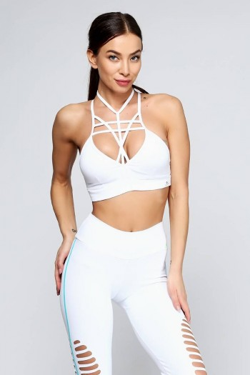 Топ Cajubrasil TOP STRAPPY BRA белый 6924/100