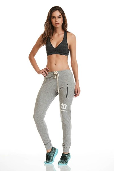 Штаны Cajubrasil SWEATPANTS NUMBER серые 9784/114