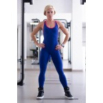 Комбинезон Cajubrasil SUPPLEX JUMPSUIT FRESH синий с оранжевым 5961/187