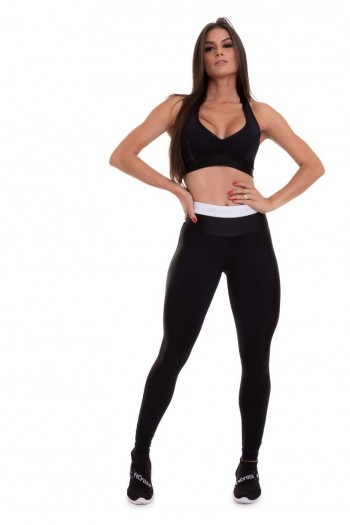 Легинсы Cajubrasil Legging NZ Shape Preto черный 11461/200