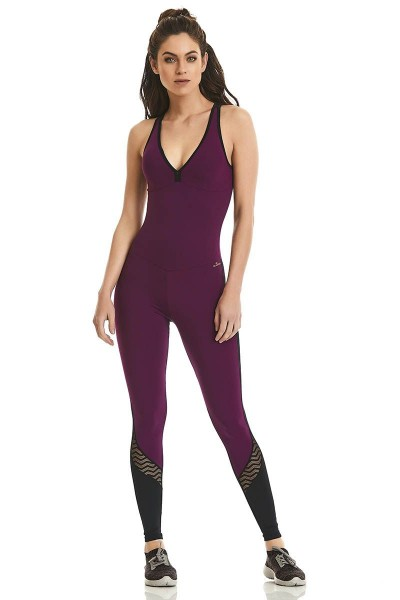 Комбинезон Cajubrasil PADDED JUMPSUIT ROCK CURVES фиолетовый 9664/189