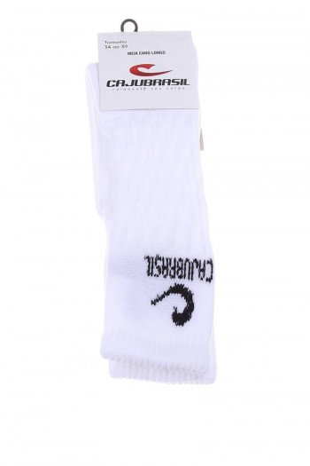 Гольфы Cajubrasil LONG SOCKS CAJUBRASIL белые 6600/100