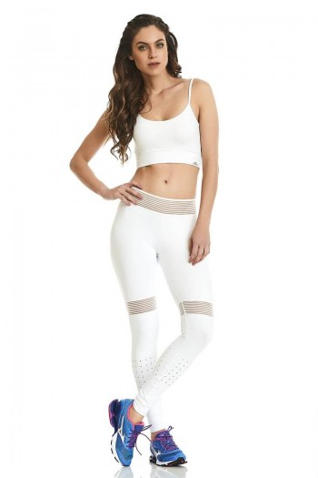 Легинсы Cajubrasil LEGGING NZ INFINITE белые 9637/100